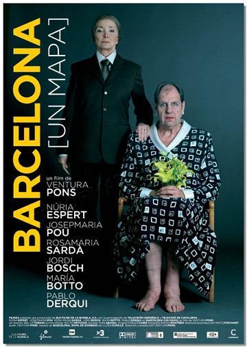 "Cartel de ""Barcelona (un mapa)"""